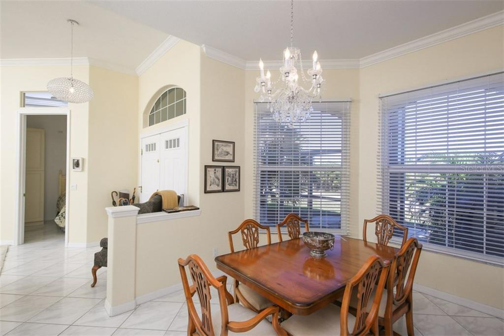 Dining Area - Single Family Home for sale at 15794 Viscount Cir, Port Charlotte, FL 33981 - MLS Number is D5916496