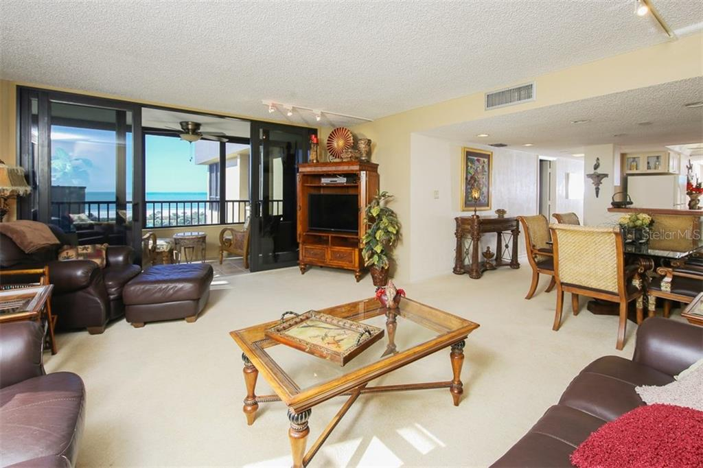 Living Area - Condo for sale at 5760 Midnight Pass Rd #702, Sarasota, FL 34242 - MLS Number is D5916943