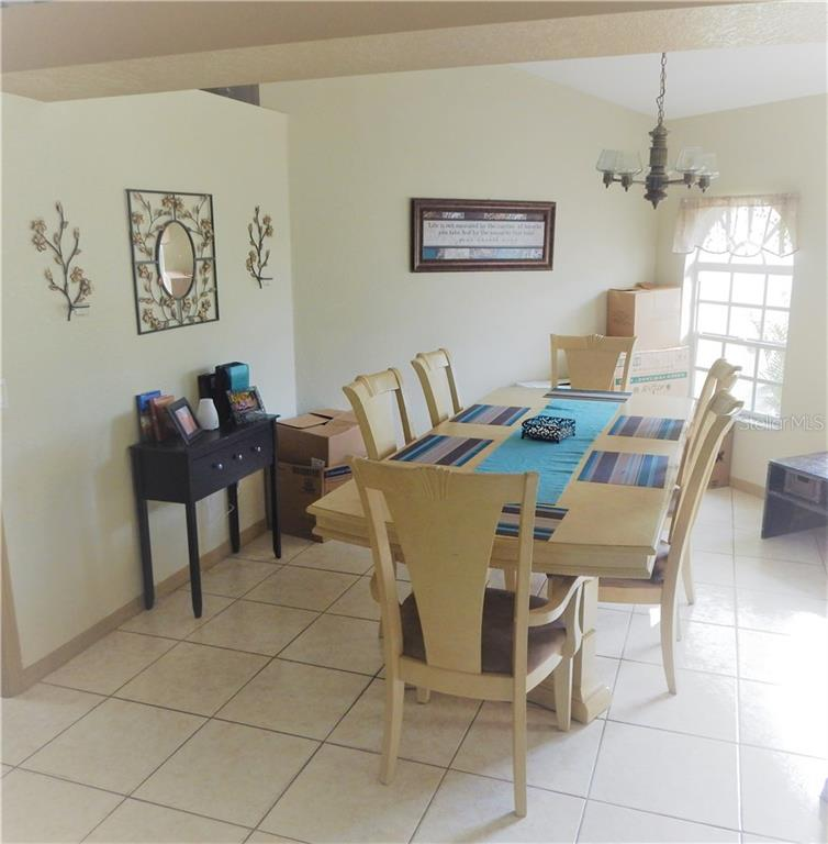 DINNING ROOM - Single Family Home for sale at 3657 Junction St, North Port, FL 34288 - MLS Number is D5917458