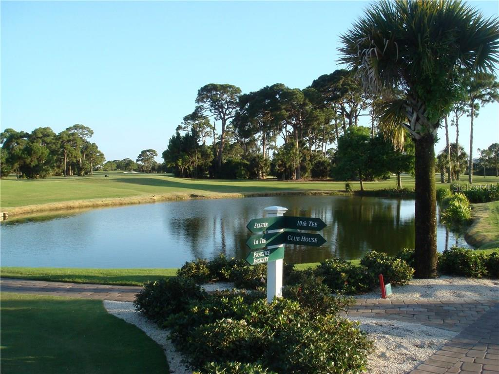 A portion of the Lemon Bay Golf Course which borders the gated Eagle Preserve Estates community on the east.  Membership in the club is not mandatory but is available. - Vacant Land for sale at 9980 Eagle Preserve Dr, Englewood, FL 34224 - MLS Number is D5917467