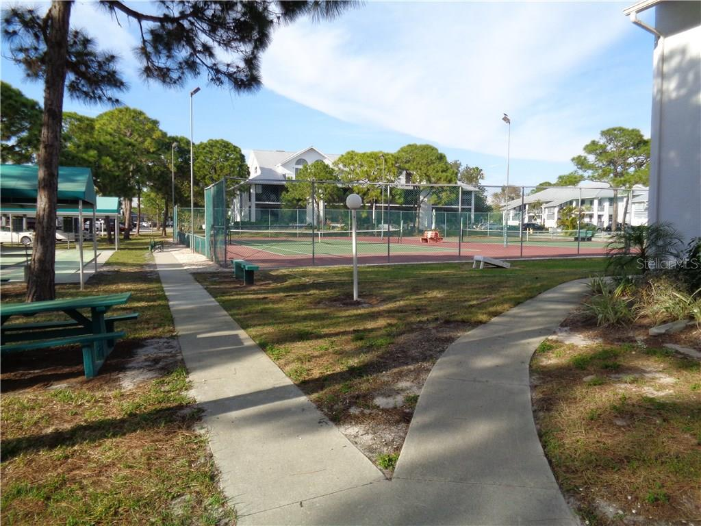 2 tennis courts.  Shuffleboard. - Condo for sale at 6800 Placida Rd #253, Englewood, FL 34224 - MLS Number is D5919792