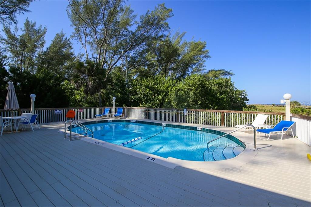 Pool looking out to Gulf - Condo for sale at 9200 Little Gasparilla Is #203, Placida, FL 33946 - MLS Number is D5920072