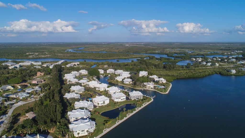 Placida Harbour Club from Intracoastal - Condo for sale at 11000 Placida Rd #309, Placida, FL 33946 - MLS Number is D5921681