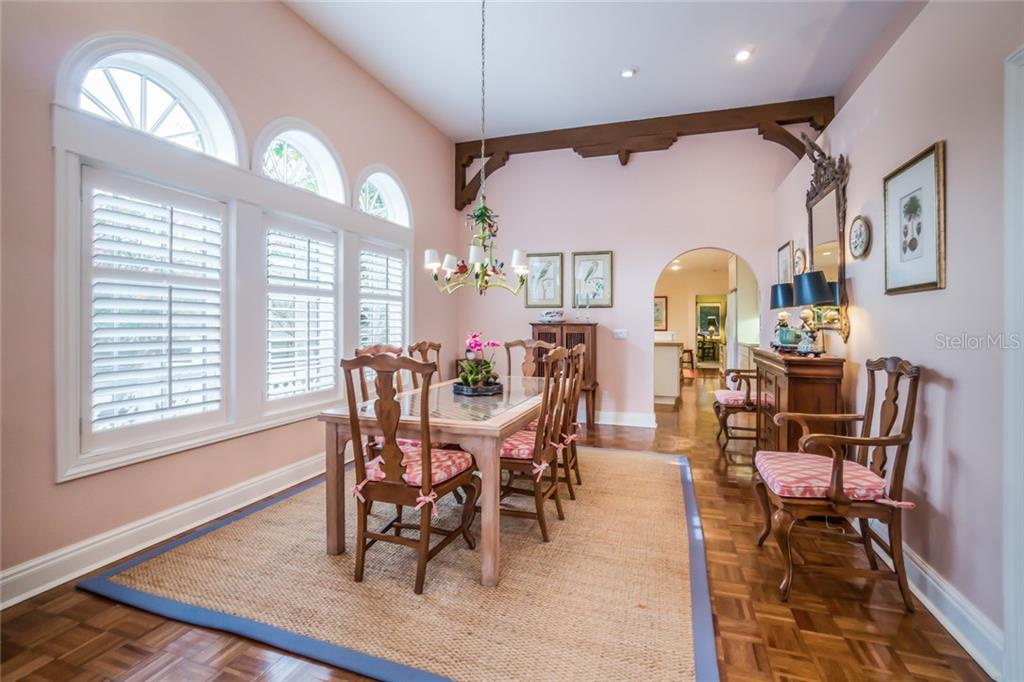 Dining Room - Single Family Home for sale at 801 Palm Ave, Boca Grande, FL 33921 - MLS Number is D5922399