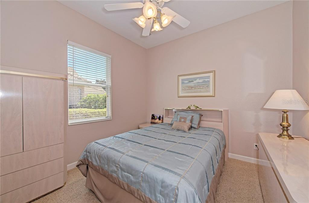 Guest bedroom 2 - Single Family Home for sale at 409 Montelluna Drive, North Venice, FL 34275 - MLS Number is D5923522