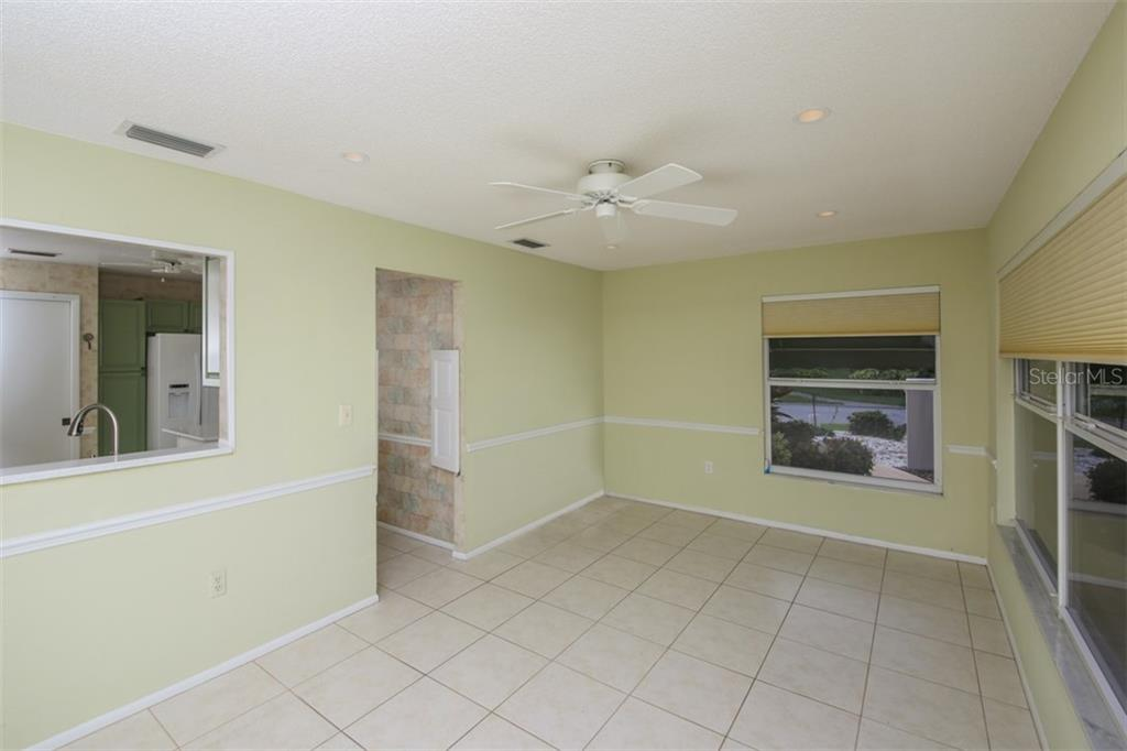 Pass through to kitchen - Villa for sale at 610 Linden Dr #349, Englewood, FL 34223 - MLS Number is D6100823