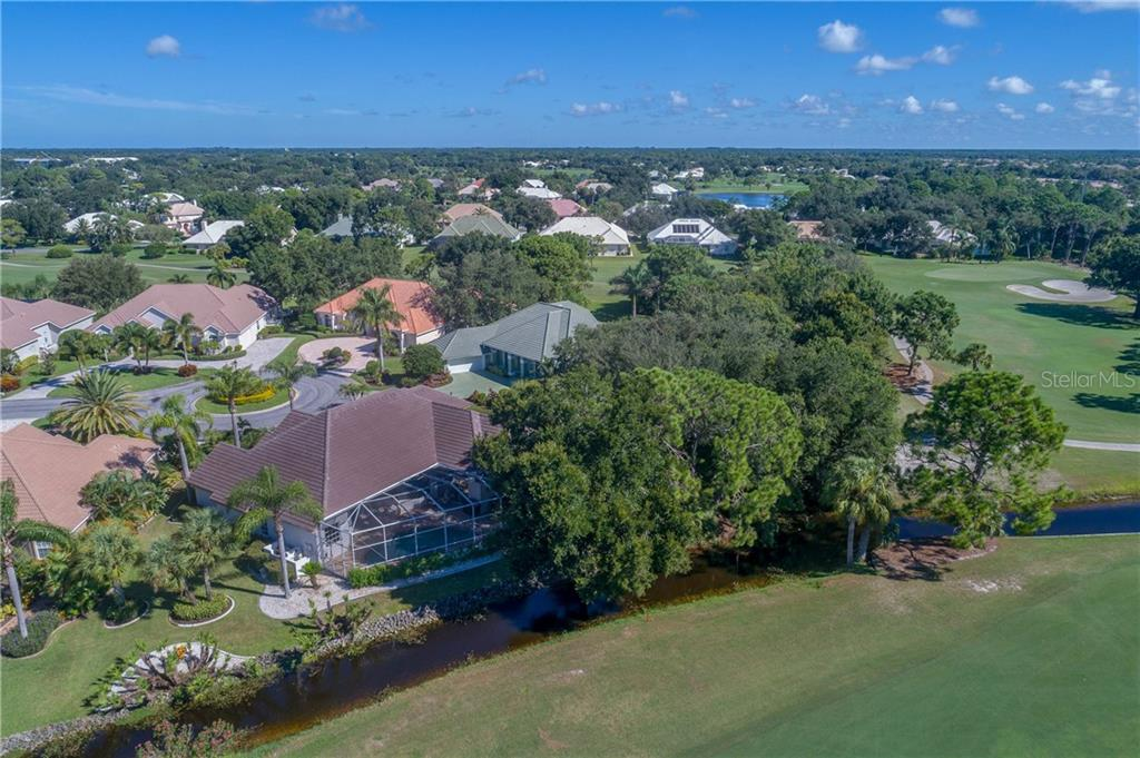 Aerial from Golfcourse - Single Family Home for sale at 422 Wincanton Pl, Venice, FL 34293 - MLS Number is D6101809