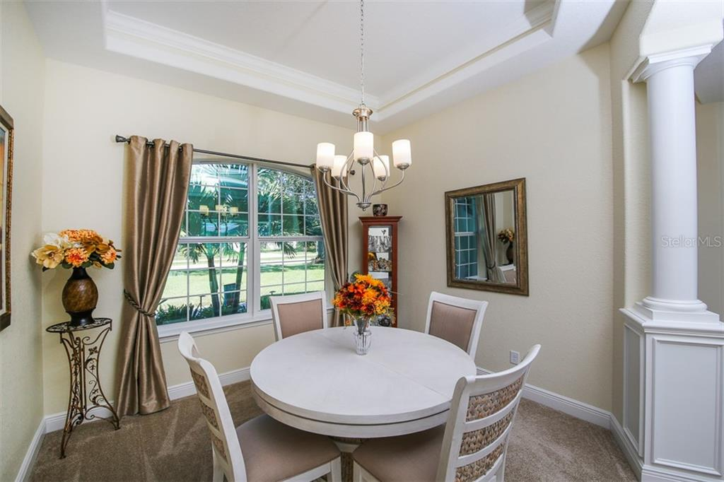 The Open floor plan is wonderful for entertaining and for letting lots of natural light in. Also Pocket Sliders from the Kitchen / Dinette and from the Great Room. - Single Family Home for sale at 244 Rotonda Blvd E, Rotonda West, FL 33947 - MLS Number is D6102620