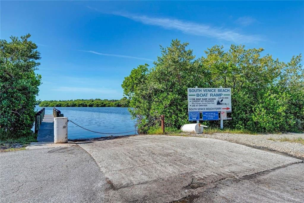 South Venice Beach Boat Ramp is a convenient way to launch your boat! - Single Family Home for sale at 3723 Shamrock Dr, Venice, FL 34293 - MLS Number is D6102893