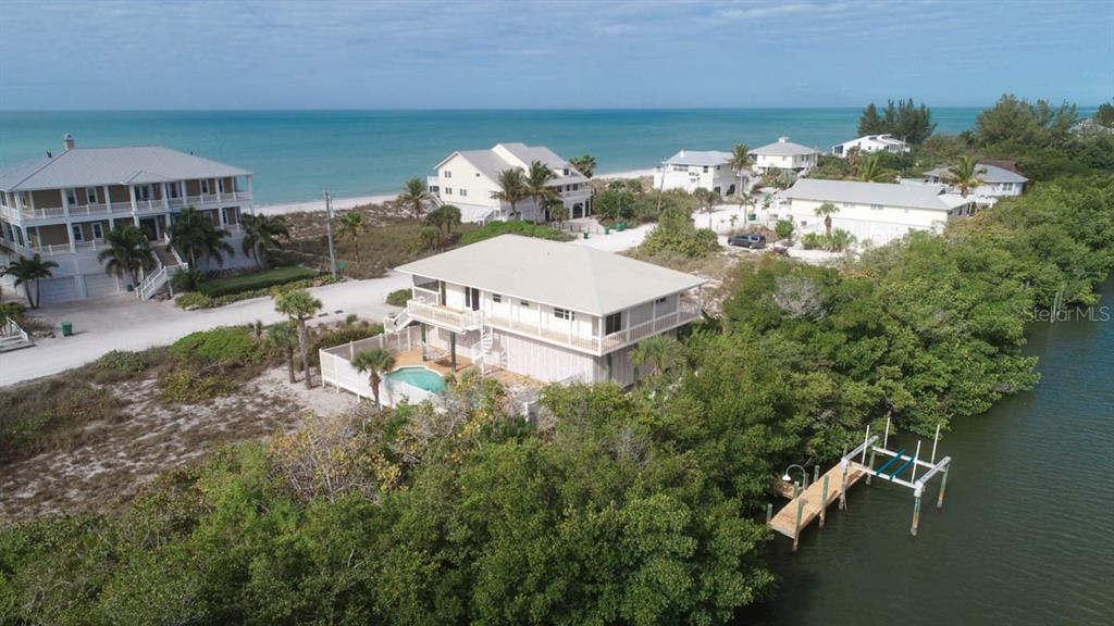 Single Family Home for sale at 100 S Gulf Blvd, Placida, FL 33946 - MLS Number is D6105313