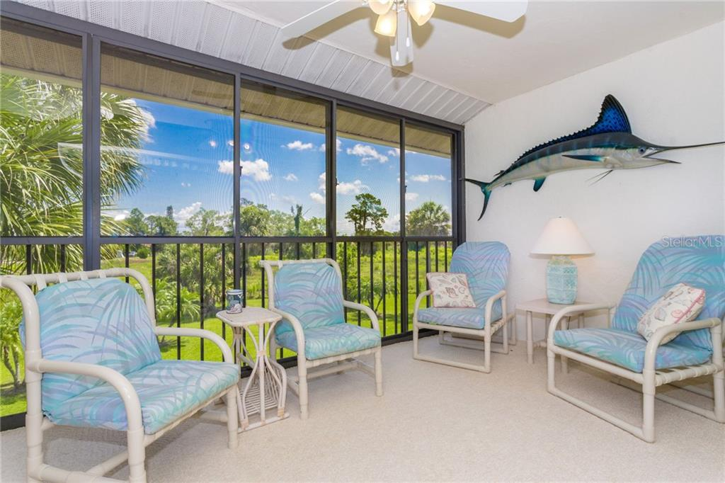 Large lanai with lots of privacy and a great view. - Condo for sale at 6800 Placida Rd #271, Englewood, FL 34224 - MLS Number is D6106459