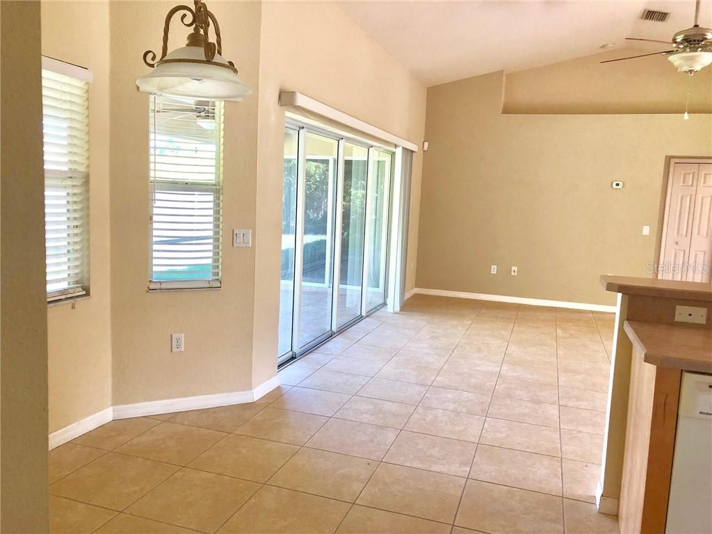 Breakfast Nook Opens to Great Room - Single Family Home for sale at 2291 Meetze St, Port Charlotte, FL 33953 - MLS Number is D6107685