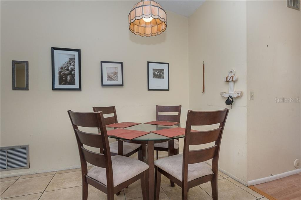 Dining area - Single Family Home for sale at 140 Church Ave, Englewood, FL 34223 - MLS Number is D6111951