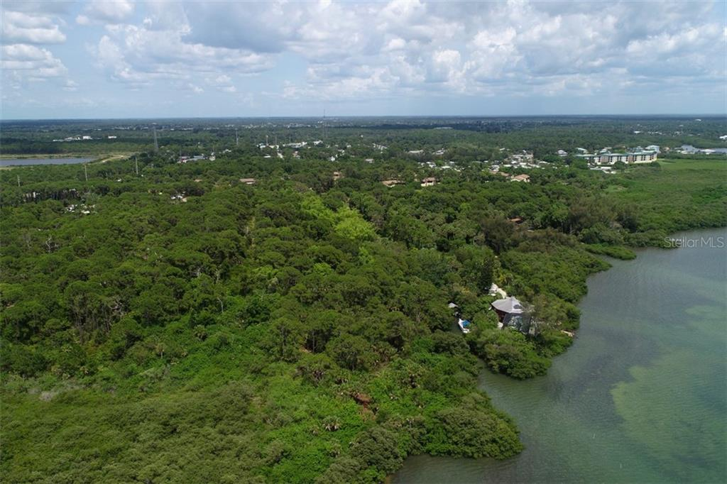 Entrance of canal - Vacant Land for sale at 9427 Downing St, Englewood, FL 34224 - MLS Number is D6112667