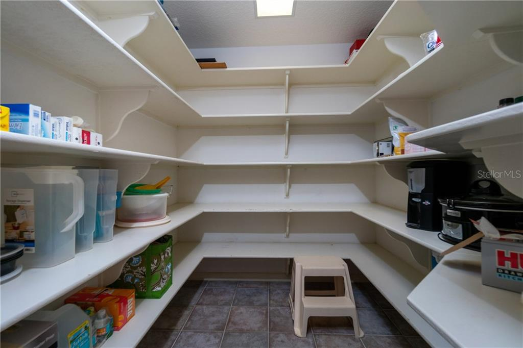 Walk in pantry affords room for not only your groceries but your extra small appliances! - Single Family Home for sale at 280 Capstan Dr, Placida, FL 33946 - MLS Number is D6113118