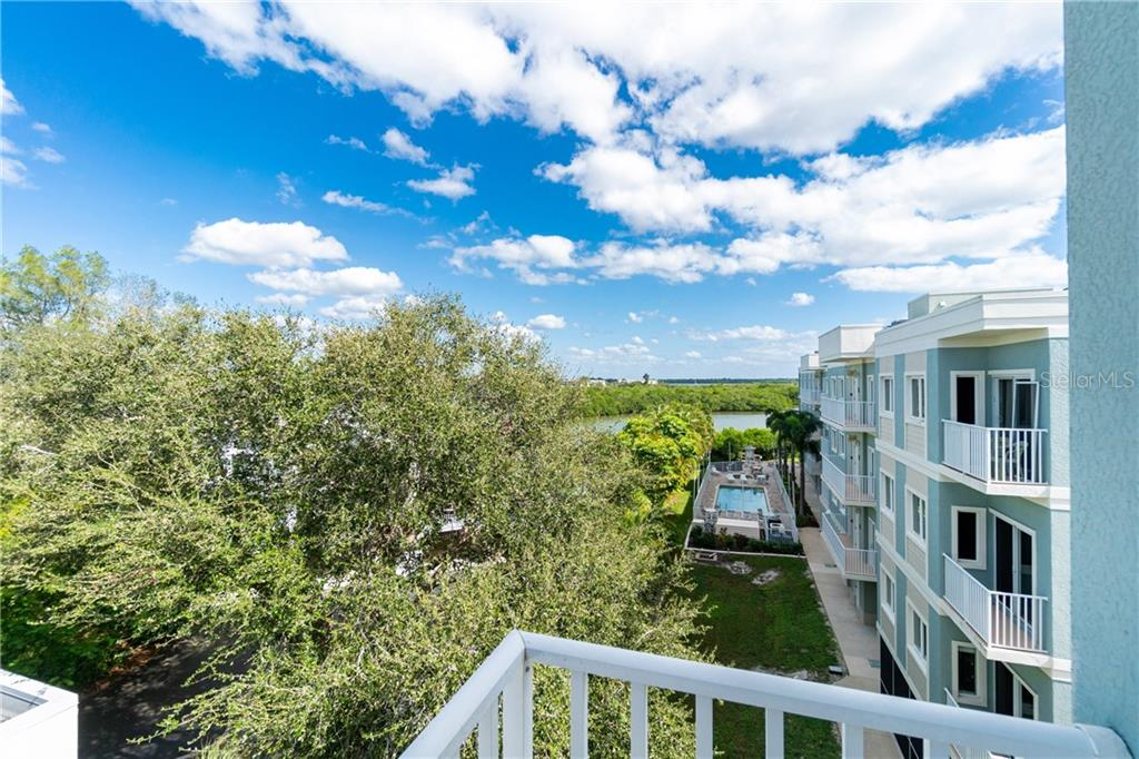 View from Master Balcony - Condo for sale at 2225 N Beach Rd #401, Englewood, FL 34223 - MLS Number is D6114646