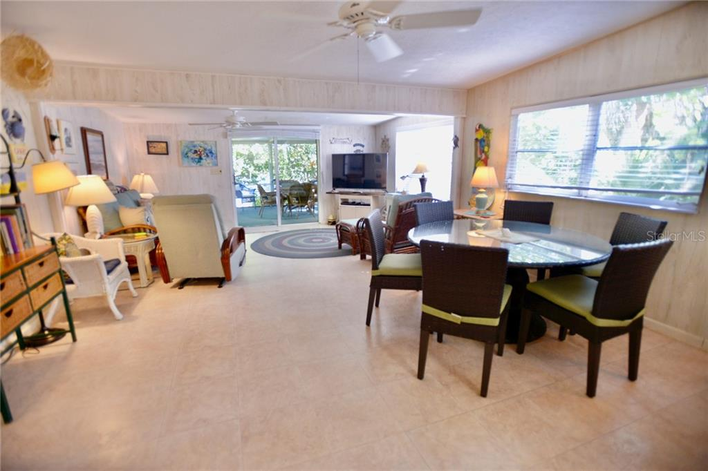Totally open floor plan with furnishings included. - Single Family Home for sale at 8144 Little Gasparilla Is, Placida, FL 33946 - MLS Number is D6115518