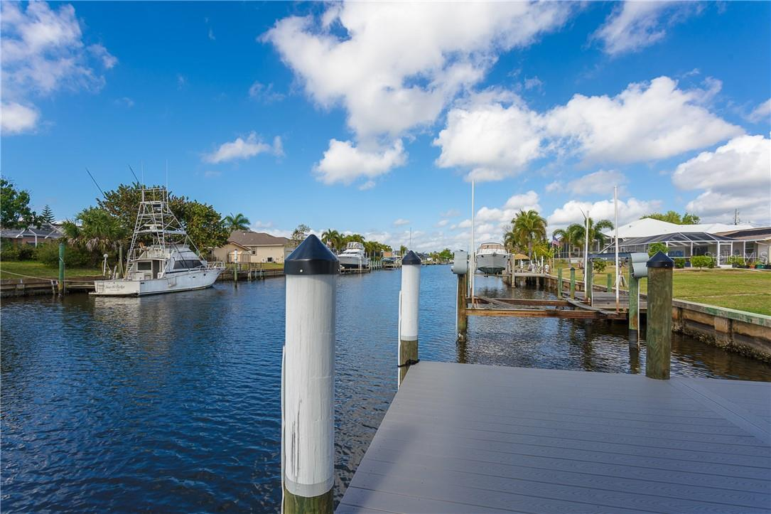 Private dock where you can fish to your hearts content - Single Family Home for sale at 145 Leland St Se, Port Charlotte, FL 33952 - MLS Number is D6117438