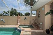Hot Tub - Single Family Home for sale at 222 Westwind Dr, Placida, FL 33946 - MLS Number is D6100545