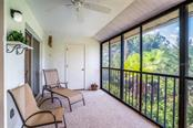 Enjoy the peaceful setting on your lanai - Condo for sale at 6800 Placida Rd #232, Englewood, FL 34224 - MLS Number is D6101383