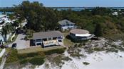 Drone beach view - Single Family Home for sale at 55 Meredith Dr, Englewood, FL 34223 - MLS Number is D6105559
