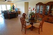 Another view of dining room - Condo for sale at 2245 N Beach Rd #304, Englewood, FL 34223 - MLS Number is D6112346