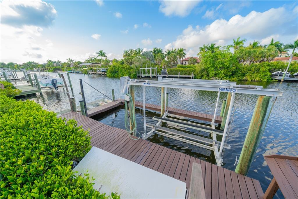 Dock with 20K lbs boat lift and space for extra boat and jet skis. - Single Family Home for sale at 3811 5th Ave Ne, Bradenton, FL 34208 - MLS Number is T3164424