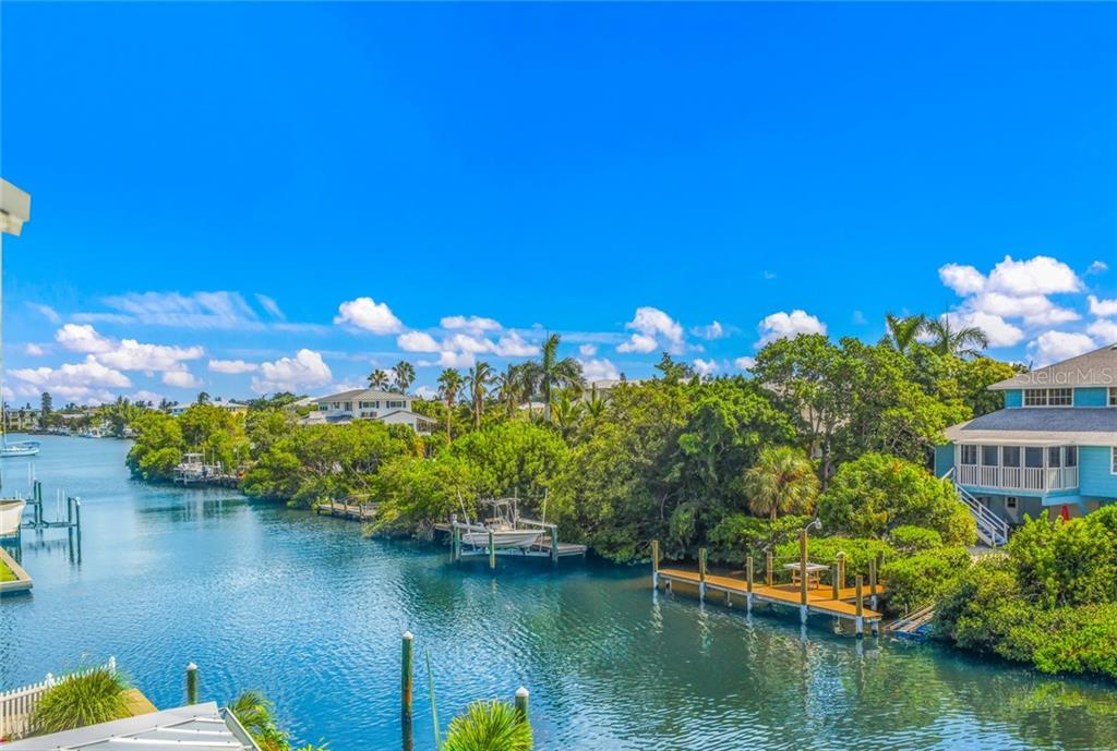 Views from two of the bedrooms stretch all the way to Bimini Bay - Single Family Home for sale at 511 Loquat Dr, Anna Maria, FL 34216 - MLS Number is T3196169