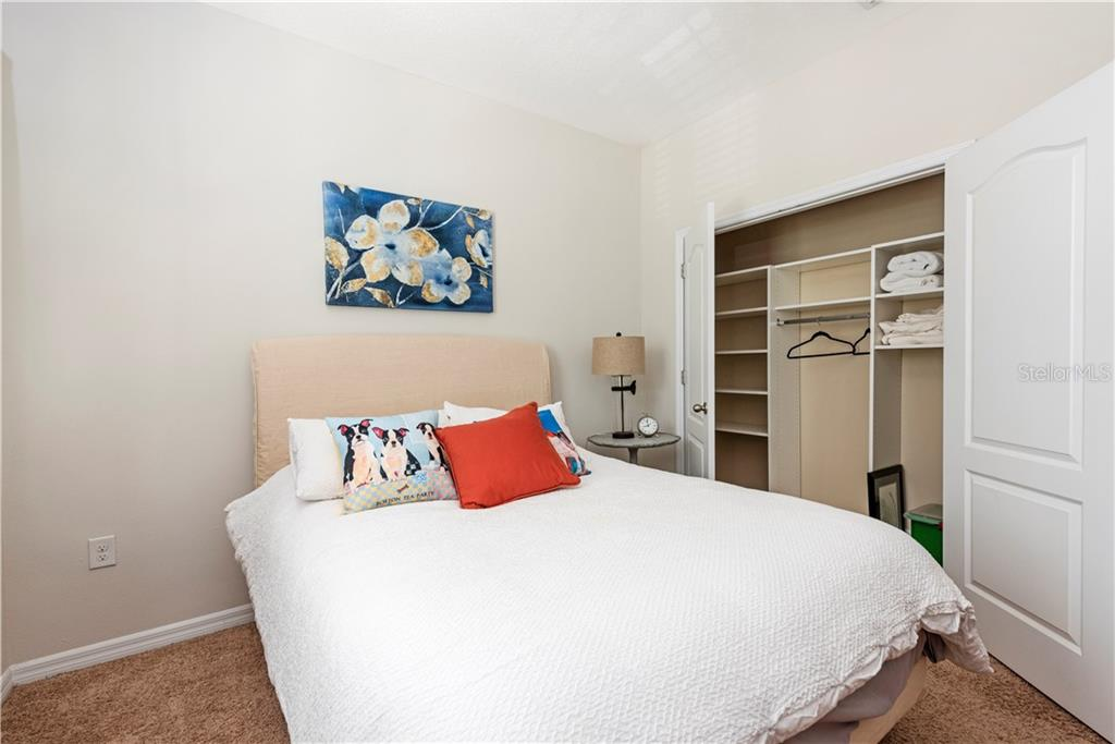 Bedroom #1 w/ Custom Closets - Condo for sale at 3129 Oriole Dr #101, Sarasota, FL 34243 - MLS Number is T3253701