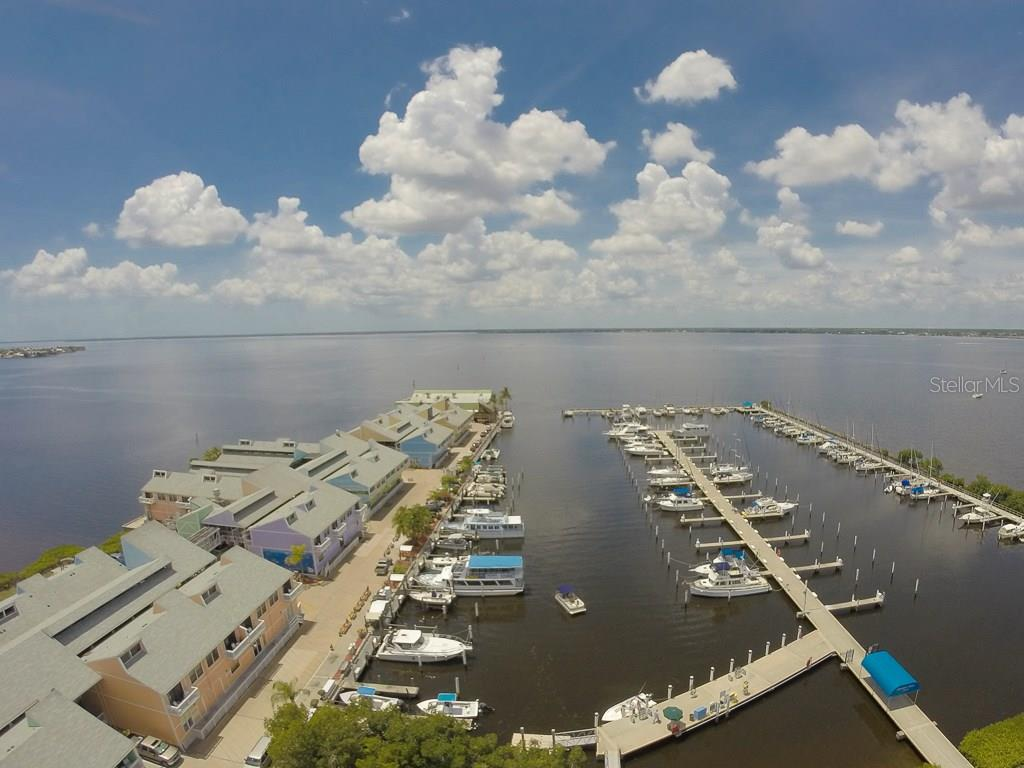 Fishermen's Village just a short walk away with fabulous restaurants and shops - Condo for sale at 1765 Jamaica Way #302, Punta Gorda, FL 33950 - MLS Number is C7234643