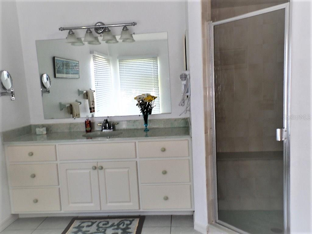 MASTER BATH WITH WALK IN SHOWER + SOAKING TUB - Single Family Home for sale at 16100 Water Oak Ct, Punta Gorda, FL 33982 - MLS Number is C7250659