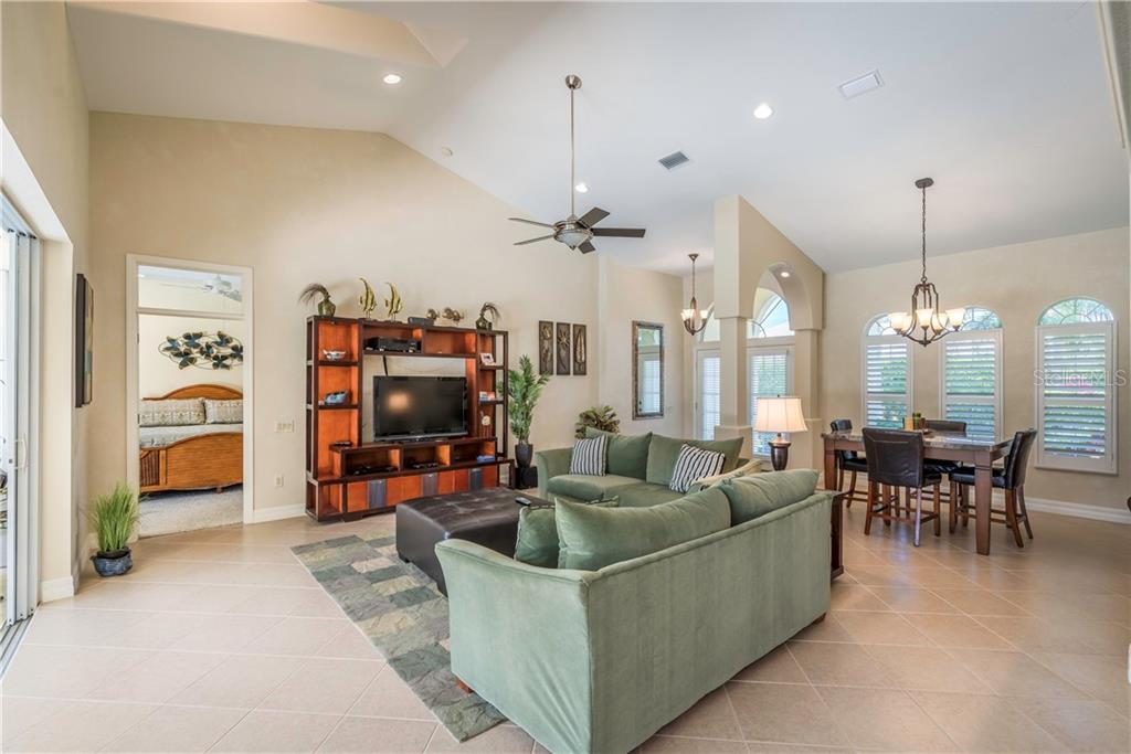 Wide open great room. - Single Family Home for sale at 931 Linkside Way, Punta Gorda, FL 33955 - MLS Number is C7400849