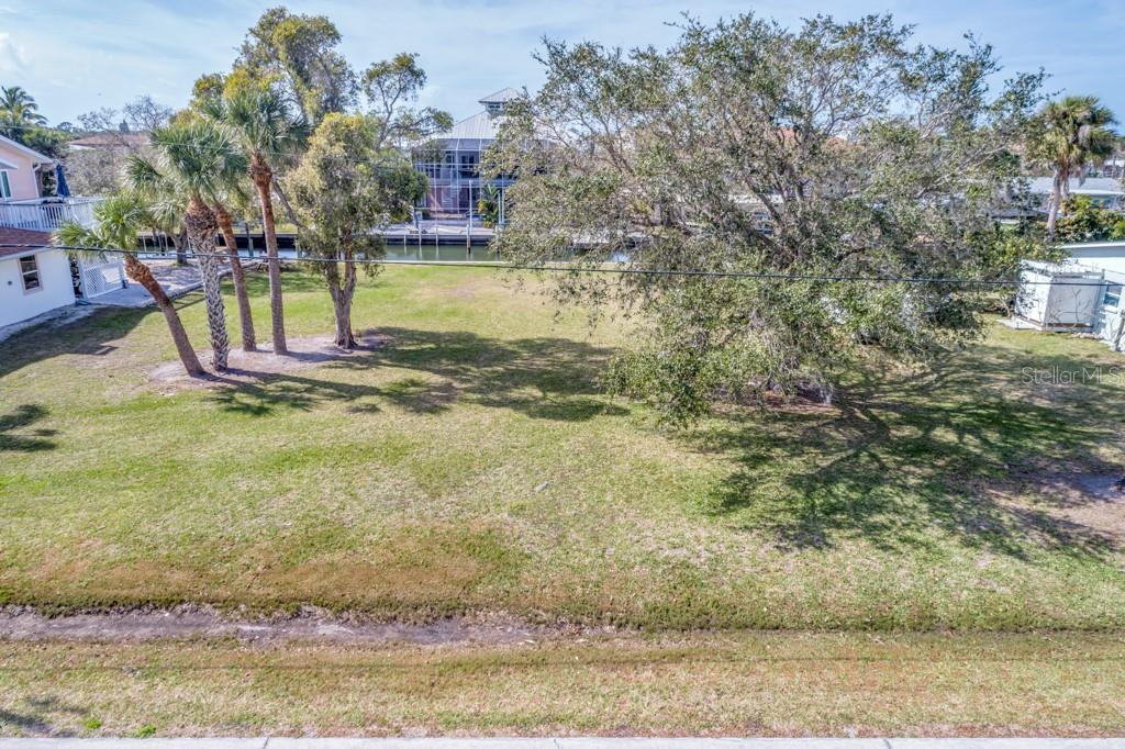 Seawall View towards North. - Vacant Land for sale at 10476 Sherman St, Englewood, FL 34224 - MLS Number is C7401585