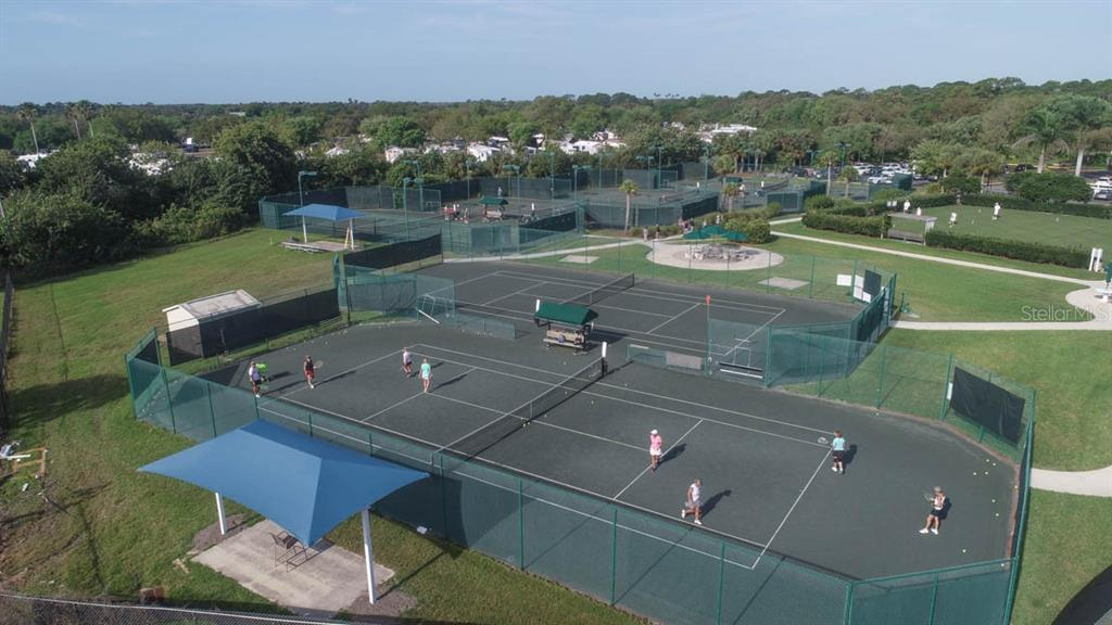 Enjoy a game of tennis - Condo for sale at 4643 Club Dr #102, Port Charlotte, FL 33953 - MLS Number is C7413207