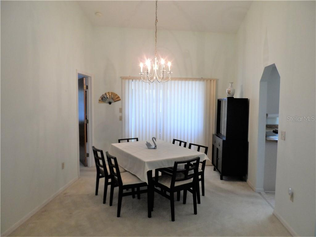 Dining room from Living room - Single Family Home for sale at 24126 Santa Inez Rd, Punta Gorda, FL 33955 - MLS Number is C7416081