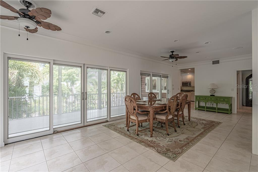 Dining room - Single Family Home for sale at 124 Useppa Is, Captiva, FL 33924 - MLS Number is C7419408