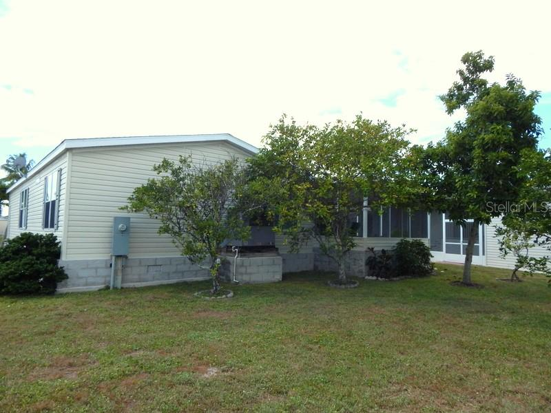 Rear of home - Manufactured Home for sale at 31 Freeman Ave, Punta Gorda, FL 33950 - MLS Number is C7420702