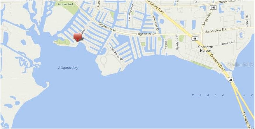 Plat Map - Vacant Land for sale at 4440 Harbor Blvd, Port Charlotte, FL 33952 - MLS Number is C7424377