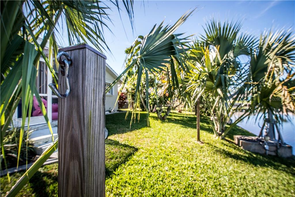 Sturdy hammock stands already in place.  Relax with a good book and soak in the rays! - Single Family Home for sale at 1440 Appian Dr, Punta Gorda, FL 33950 - MLS Number is C7425399