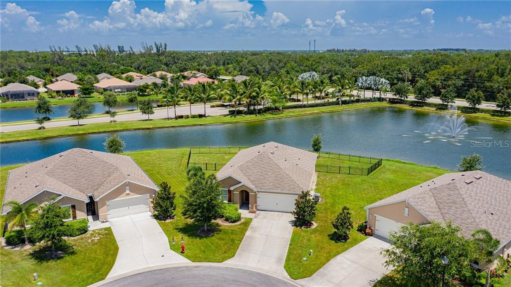 This great home is lakefront right across from the beautiful gated entry promenades. - Single Family Home for sale at 25041 Lalique Pl, Punta Gorda, FL 33950 - MLS Number is C7430423
