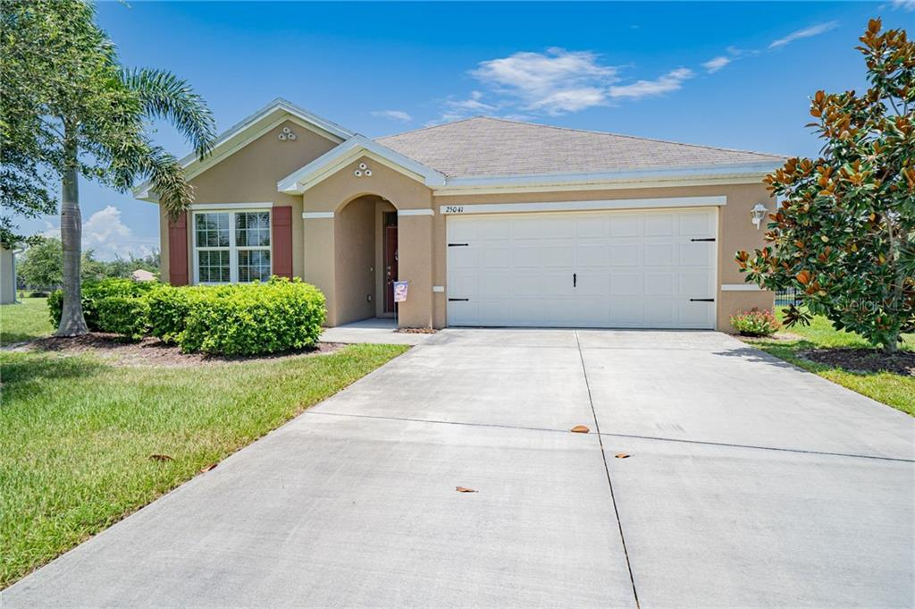 Front - Single Family Home for sale at 25041 Lalique Pl, Punta Gorda, FL 33950 - MLS Number is C7430423