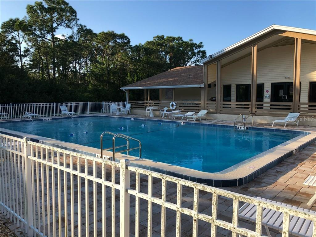 Community Heated Pool - Single Family Home for sale at 1302 Pinebrook Way, Venice, FL 34285 - MLS Number is C7435367