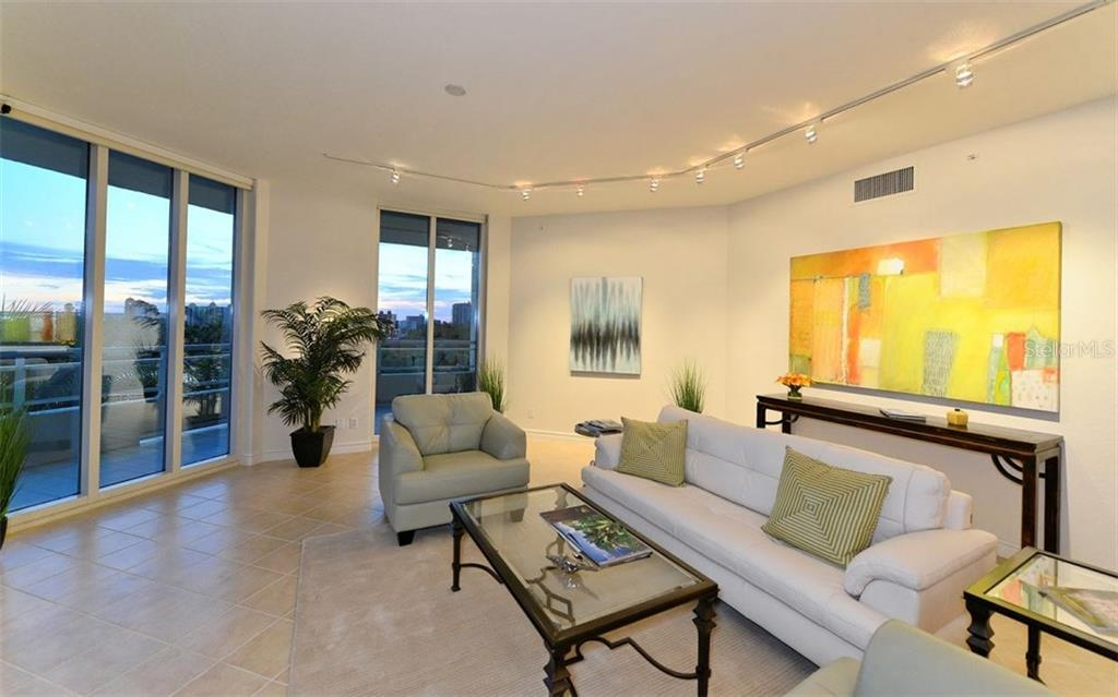 Bay view from balcony - Condo for sale at 500 S Palm Ave #41, Sarasota, FL 34236 - MLS Number is A4144835