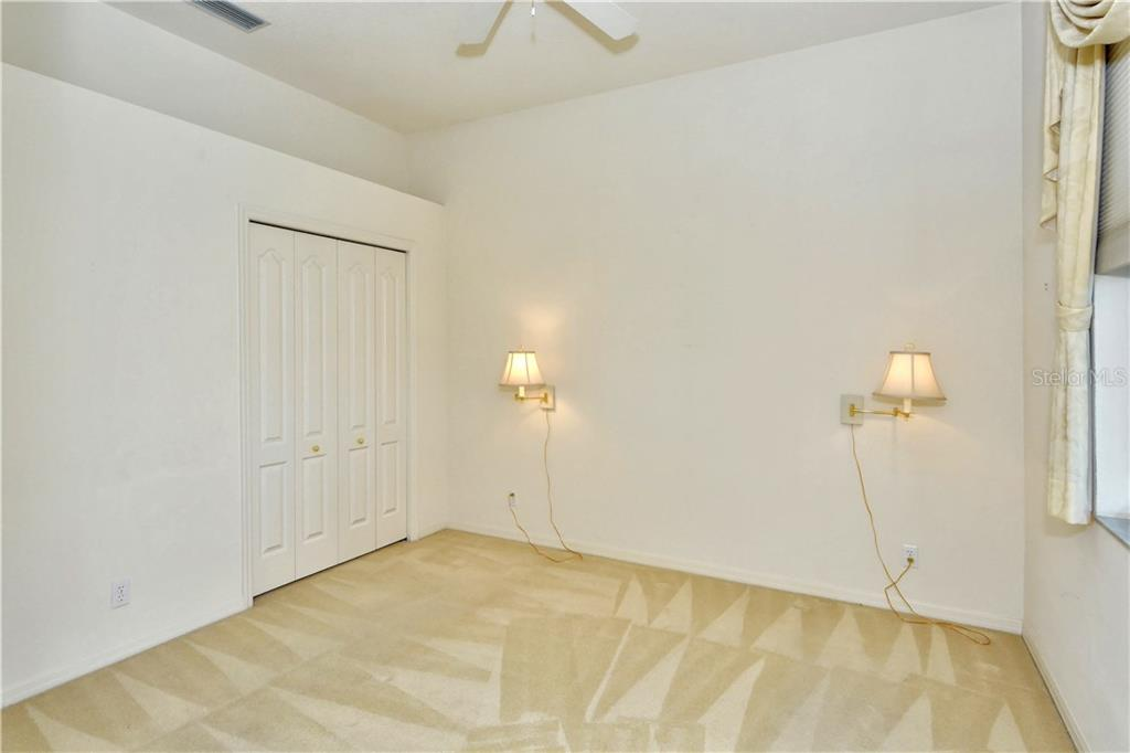 The 4th bedroom/office is accessed from the rear of the family room. It is immediately adjacent to the full pool bath thus forming a 3rd private guest suite area. - Single Family Home for sale at 8753 Merion Ave, Sarasota, FL 34238 - MLS Number is A4165409