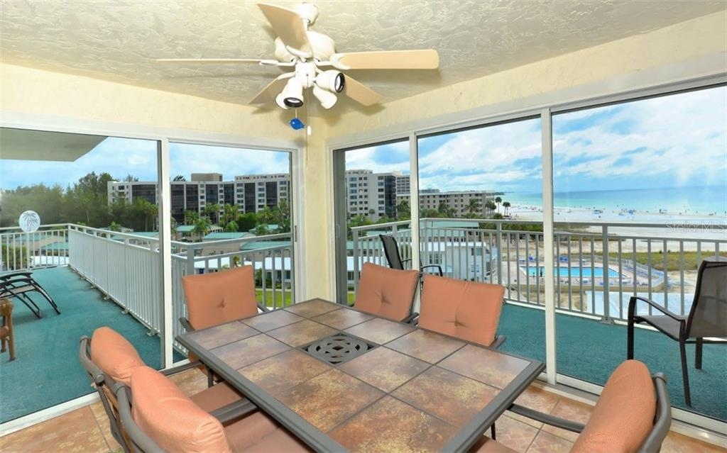 Enclosed balcony - Single Family Home for sale at 5830 Midnight Pass Rd #504, Sarasota, FL 34242 - MLS Number is A4166623