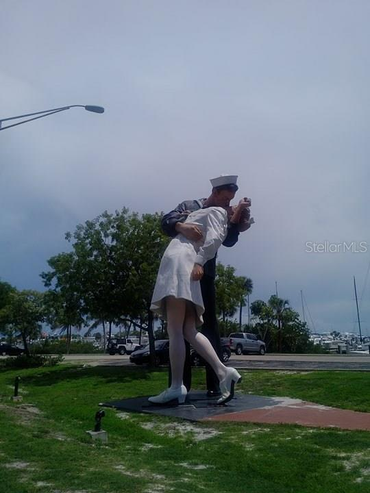 The iconic Unconditional Surrender at Marina Jack's - Condo for sale at 101 S Gulfstream Ave #11a, Sarasota, FL 34236 - MLS Number is A4168207