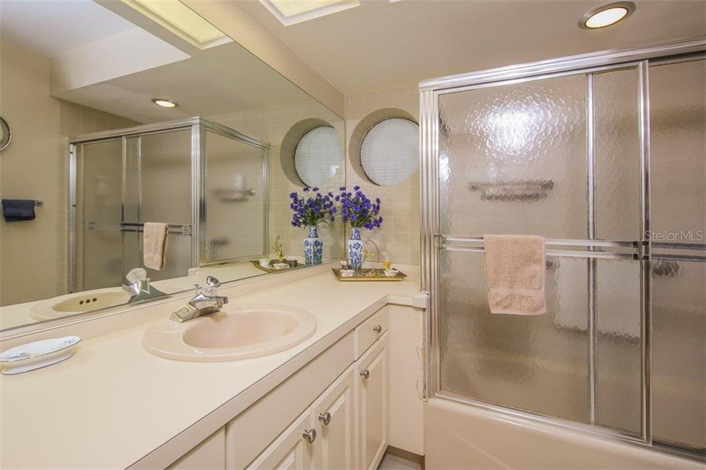 2nd bathroom - Condo for sale at 7631 Fairway Woods Dr #601, Sarasota, FL 34238 - MLS Number is A4168292