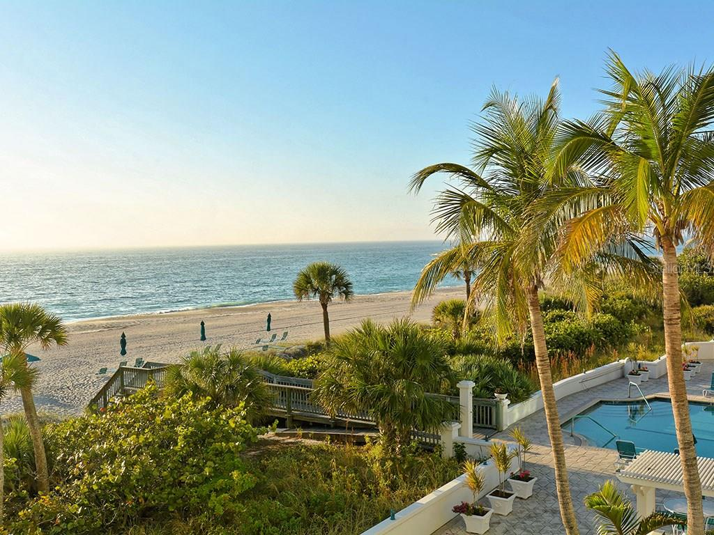 Beach Front View - Condo for sale at 655 Longboat Club Rd #13a, Longboat Key, FL 34228 - MLS Number is A4171637
