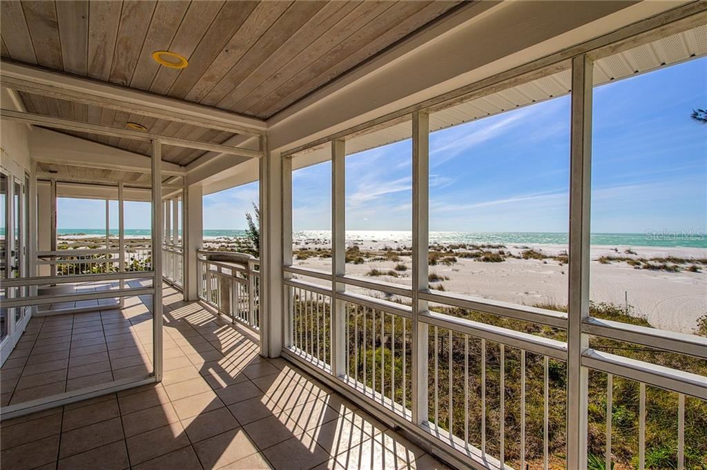 3rd Floor Balcony View - Single Family Home for sale at 811 N Shore Dr, Anna Maria, FL 34216 - MLS Number is A4178184