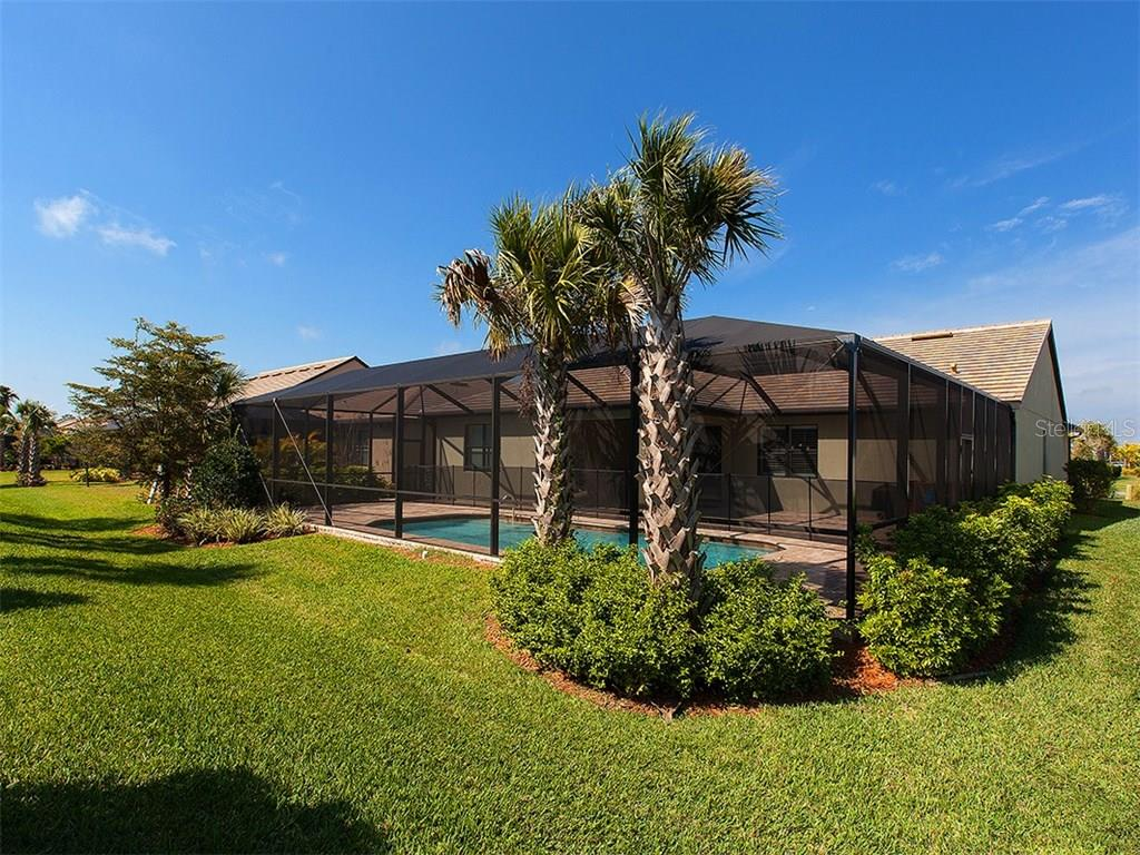 Pool exterior. - Single Family Home for sale at 5436 Sundew Dr, Sarasota, FL 34238 - MLS Number is A4178629
